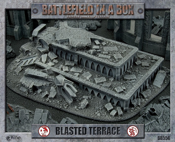 Blasted Terrace (BB556)