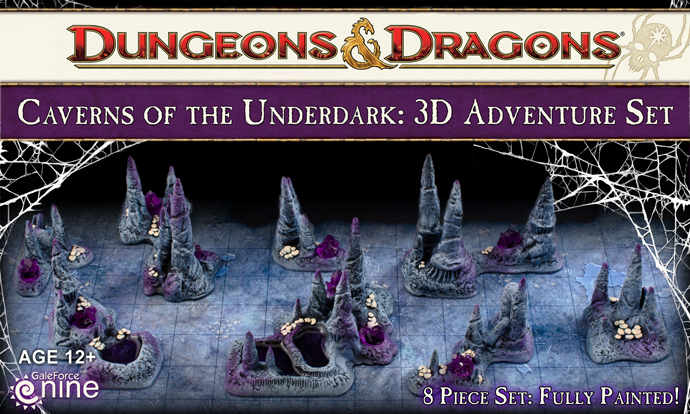 Caverns of the Underdark 3D Adventure Set (72802)