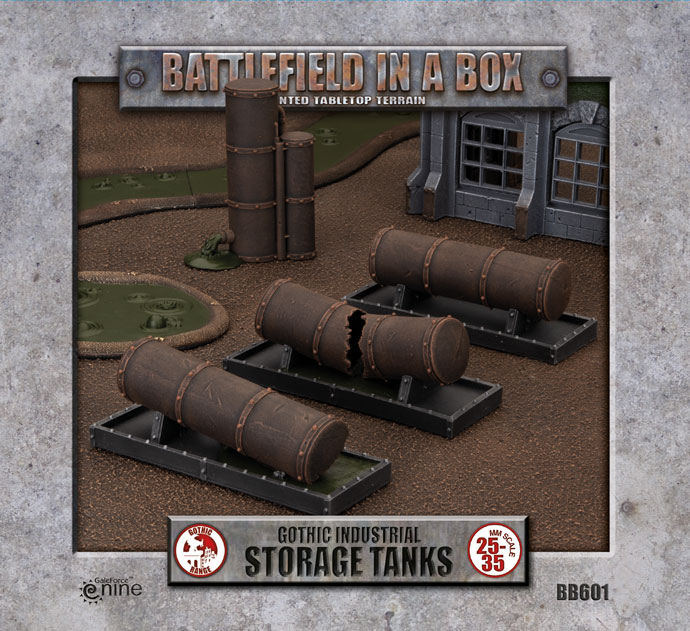 Click here to Pre-order the Gothic Industrial Storage Tanks...