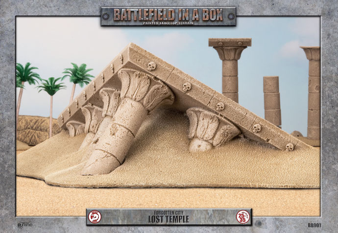 Battlefield in a Box: Forgotten City Lost Temple (BB901)